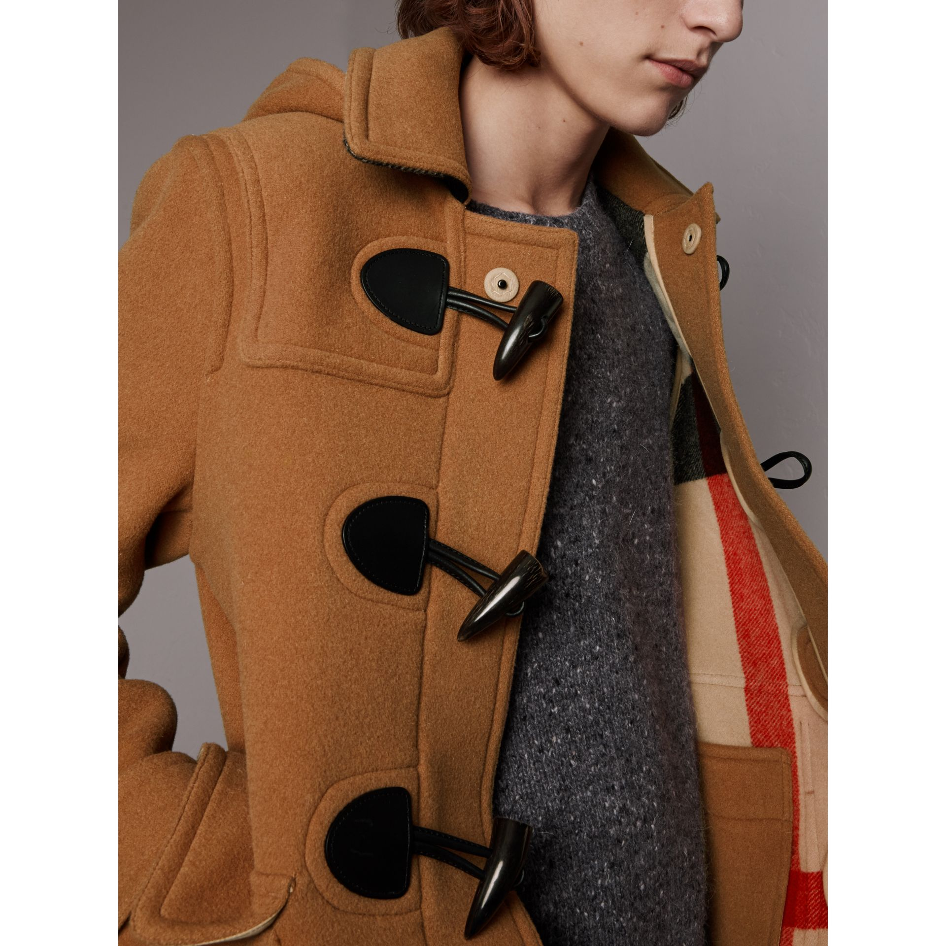 Duffle-coat The Plymouth (Camel Moyen) - Homme | Burberry - photo de la galerie 1