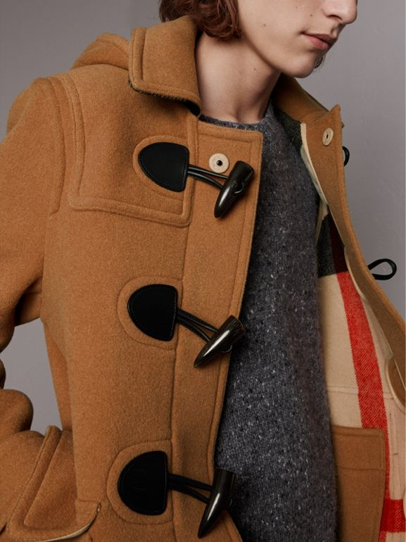 Duffle-coat The Plymouth (Camel Moyen) - Homme | Burberry - cell image 1