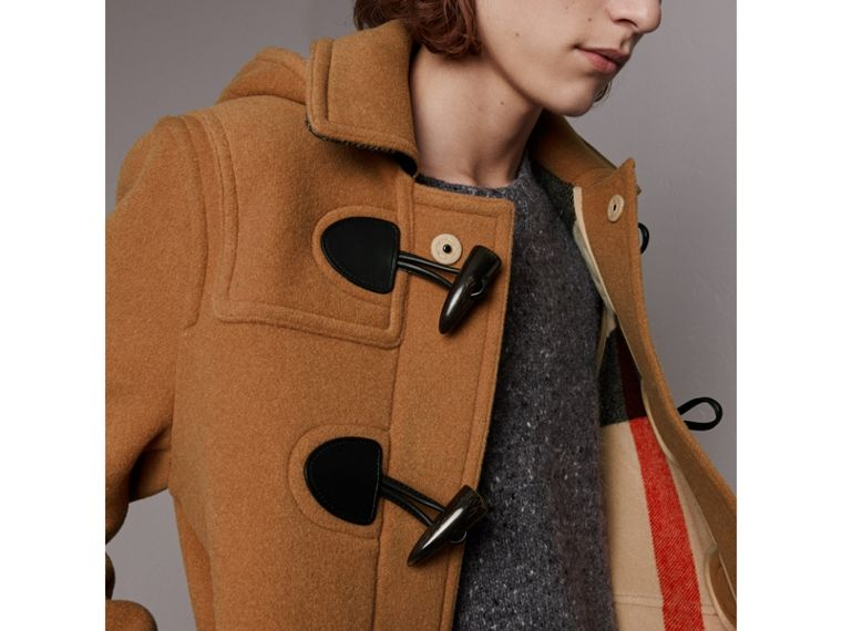 The Plymouth Duffle Coat in Mid Camel - Men | Burberry Singapore - cell image 1