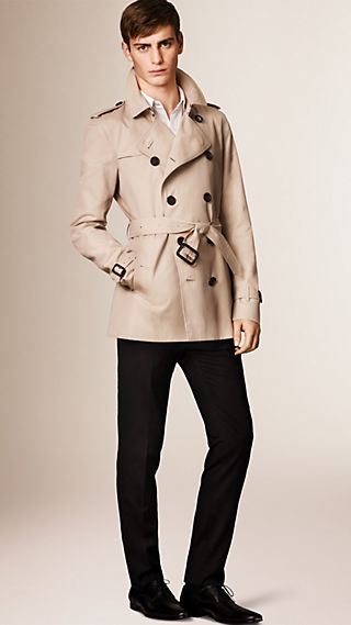 The Kensington - Trench coat Heritage curto