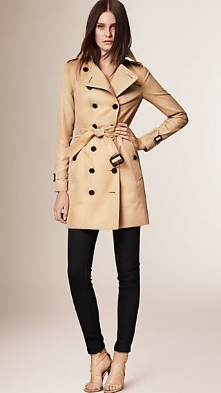 Trench coat Sandringham - Trench coat Heritage de longitud media