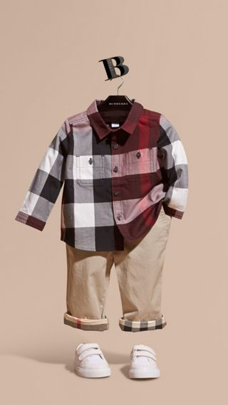 Check Cotton Shirt