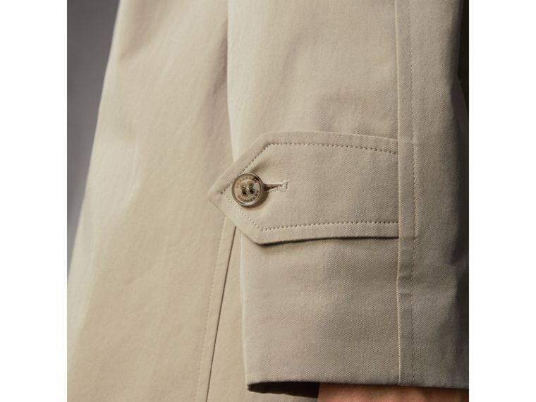 The Brighton – Longline Car Coat in Sandstone - Men | Burberry - cell image 4