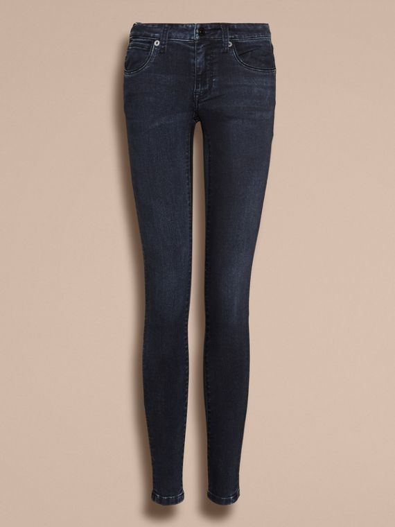 Dark indigo Skinny Fit Power-Stretch Jeans - cell image 3