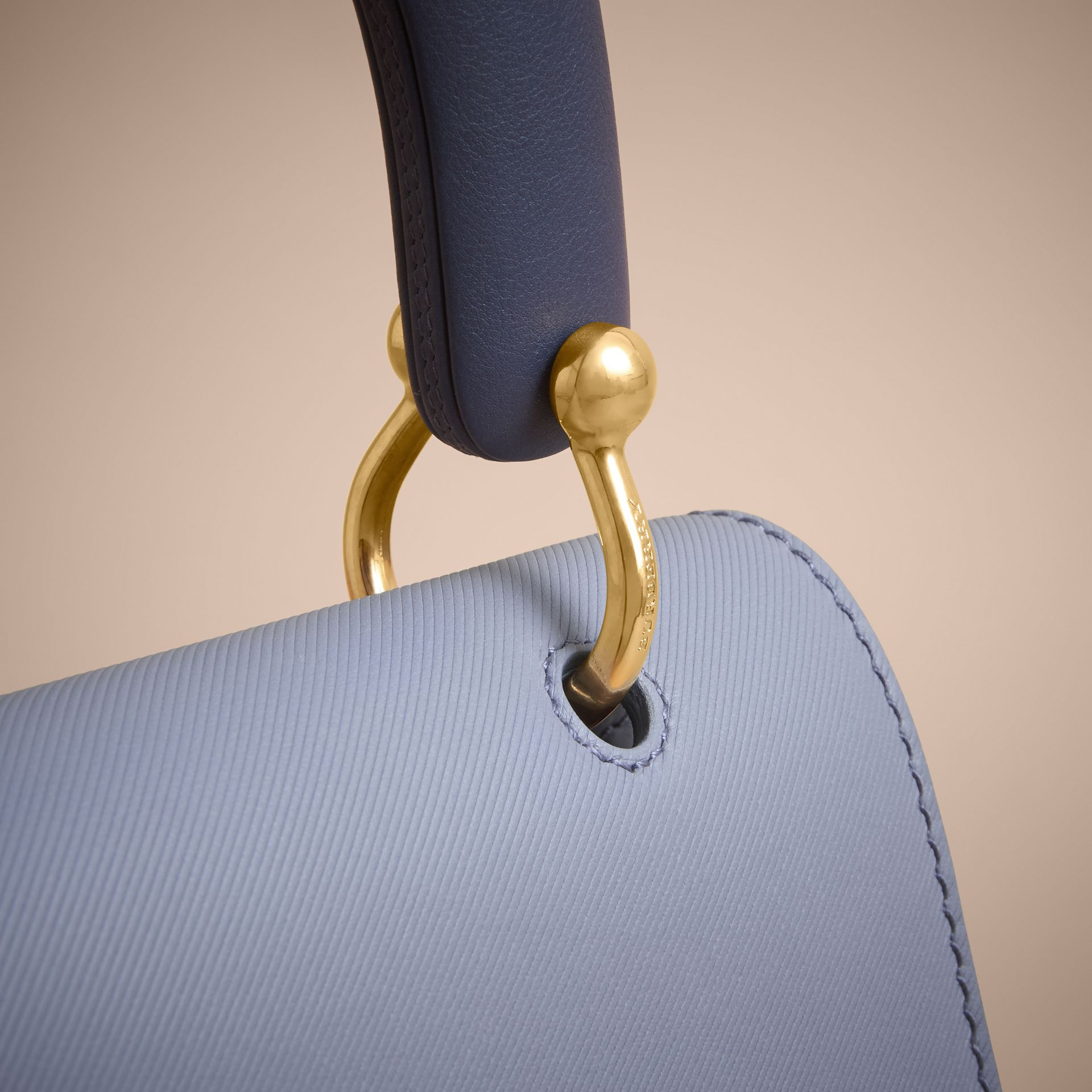The Medium DK88 Top Handle Bag in Slate Blue - Women | Burberry - gallery image 1