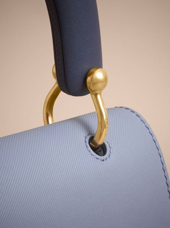 The Medium DK88 Top Handle Bag in Slate Blue - Women | Burberry - cell image 1