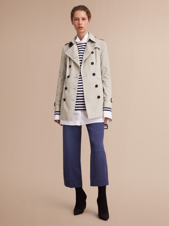The Sandringham - Trench coat Heritage curto Areia