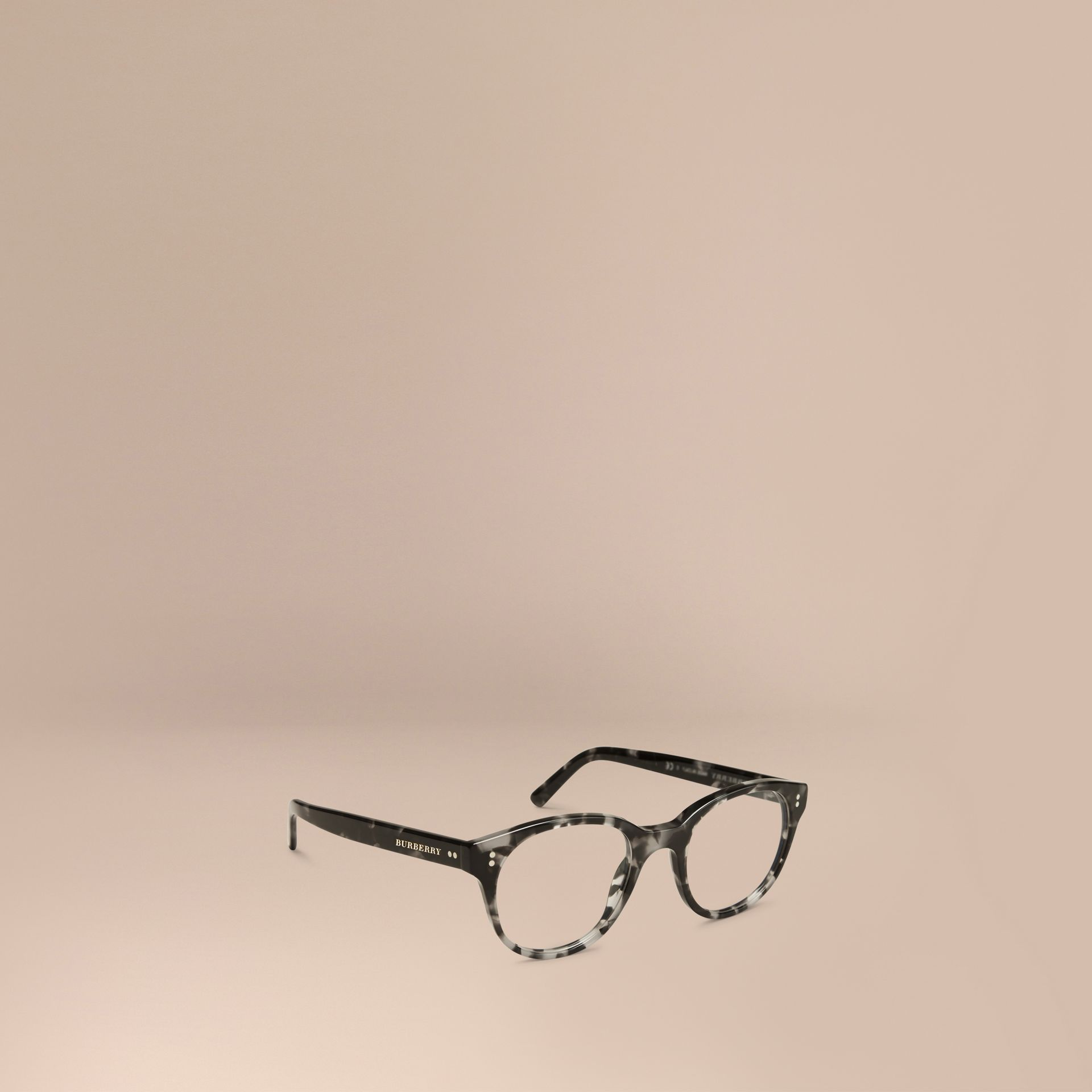 Round Optical Frames Grey - gallery image 1