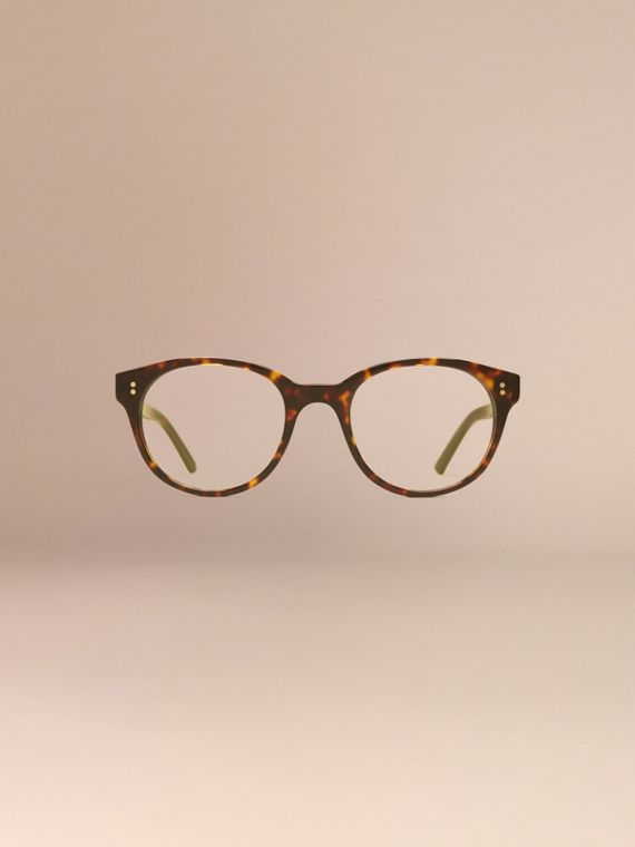 Round Optical Frames Tortoise Shell - cell image 2