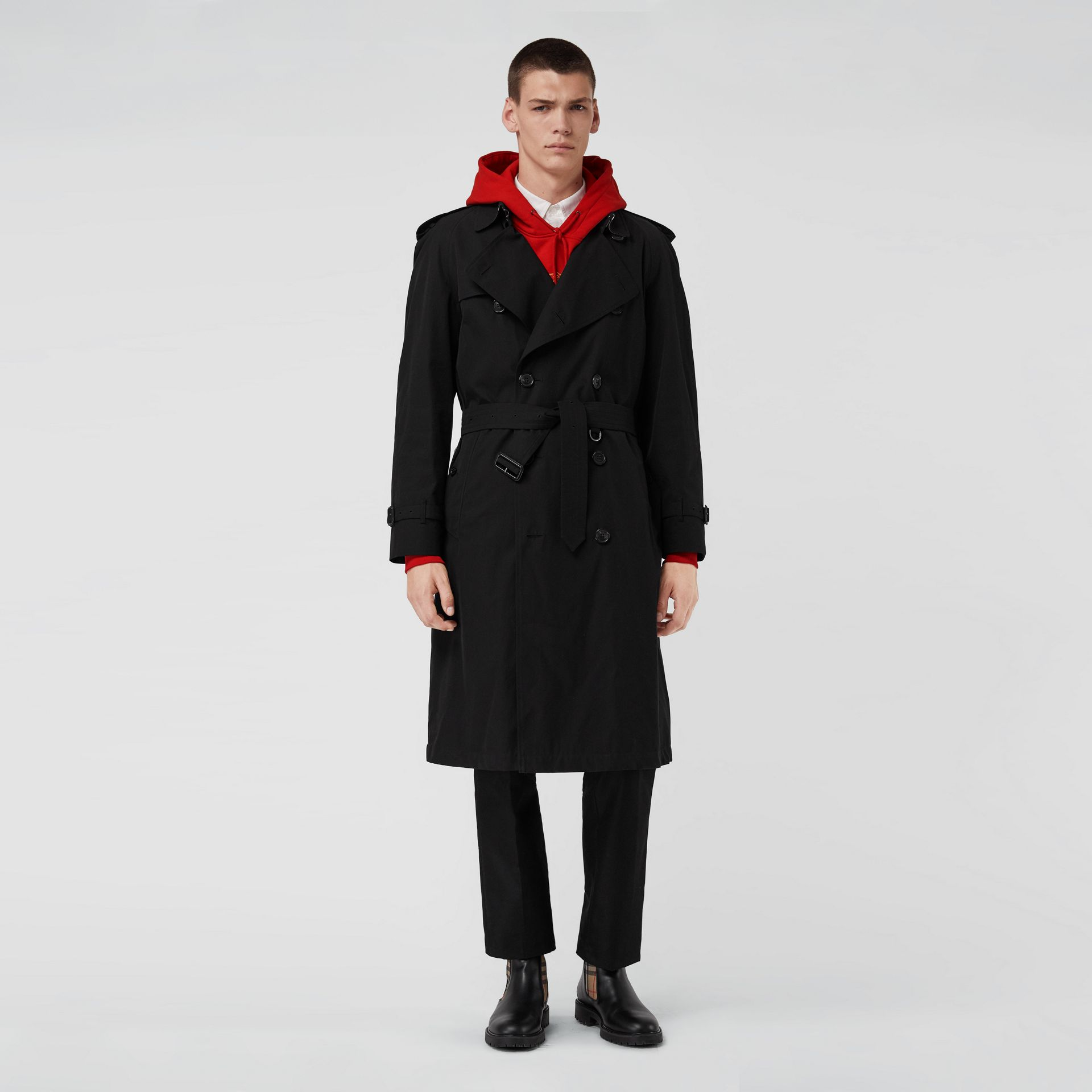 The Westminster Heritage Trench Coat in Black - Men | Burberry Singapore - gallery image 7