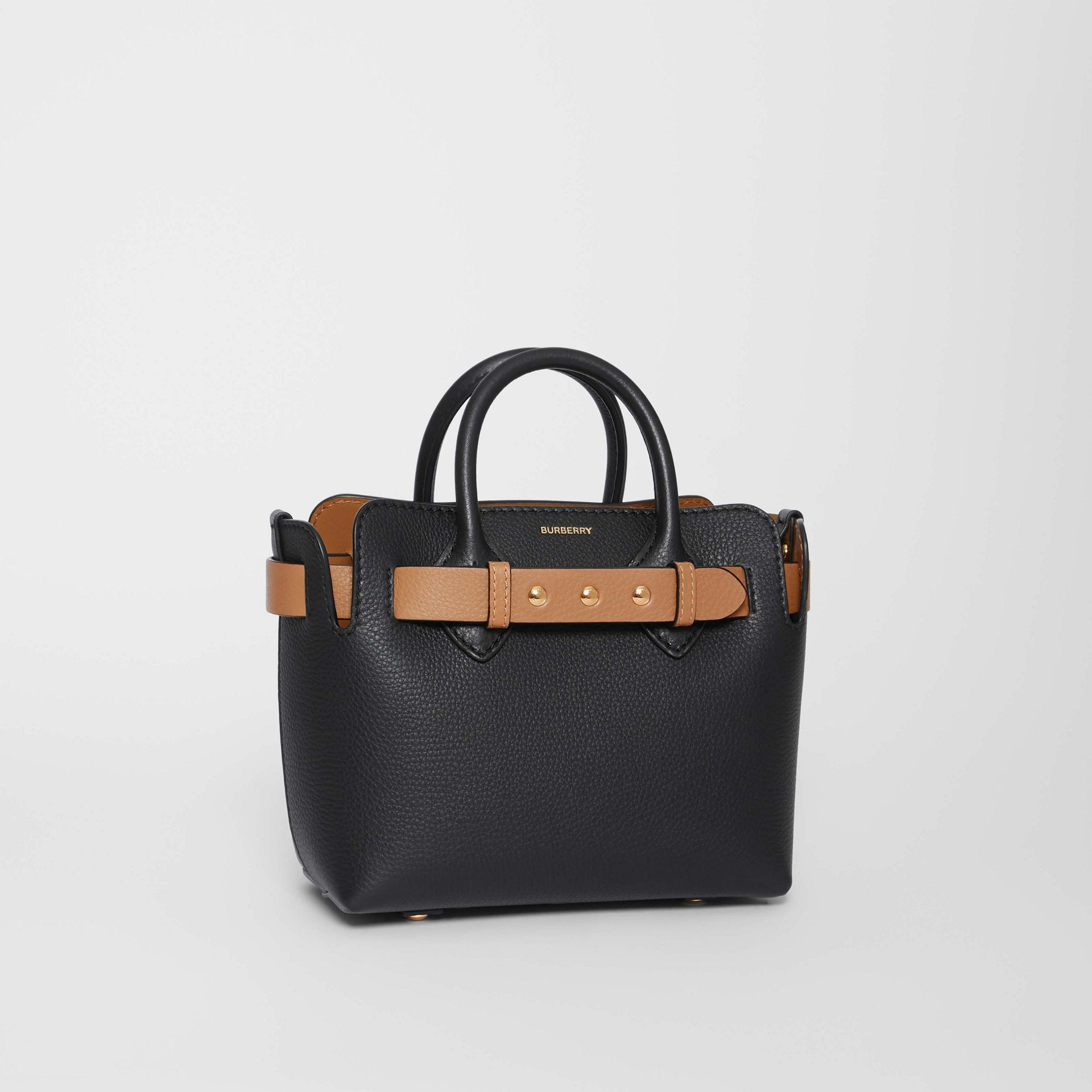 Borsa The Belt mini in pelle con tre borchie (Nero) - Donna | Burberry - immagine della galleria 6