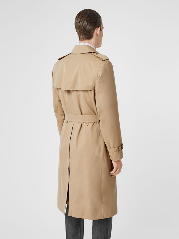 The Long Kensington Heritage Trench Coat in Honey - Men | Burberry Hong Kong S.A.R - cell image 2