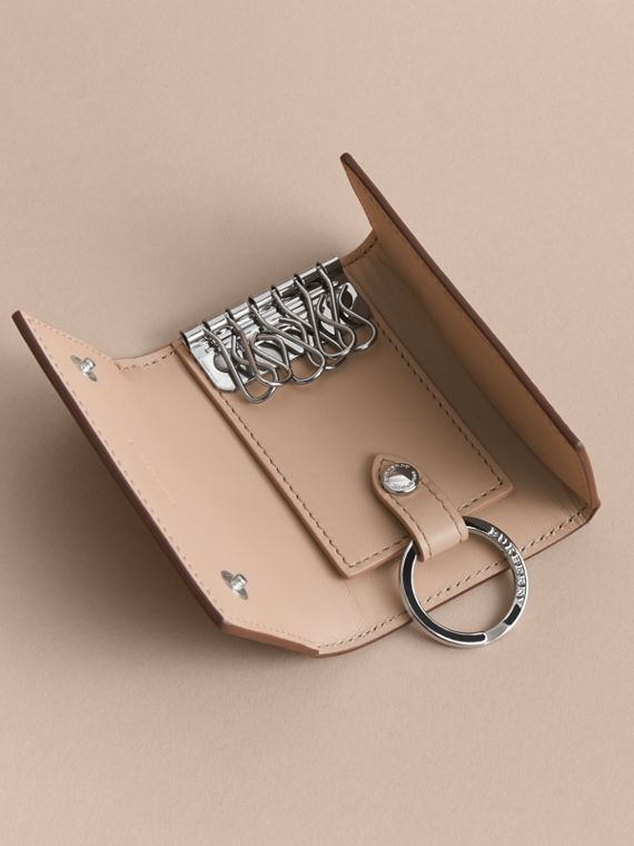 London Leather Key Holder - Men | Burberry - cell image 3