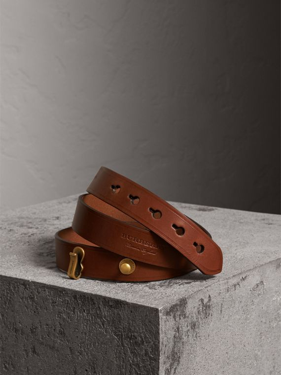 Bridle Leather Belt in Tan