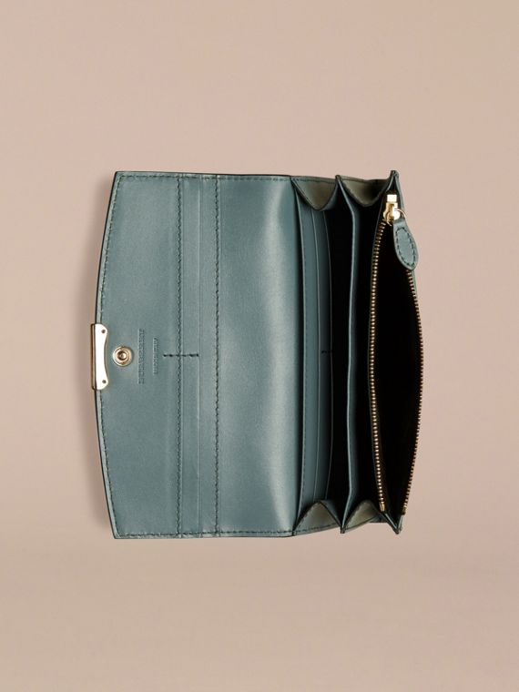 Celadon blue Signature Grain Leather Continental Wallet Celadon Blue - cell image 2