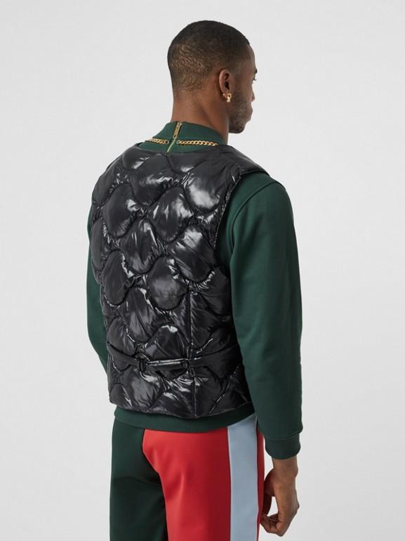 Nylon Puffer Waistcoat in Black - Men | Burberry - cell image 1