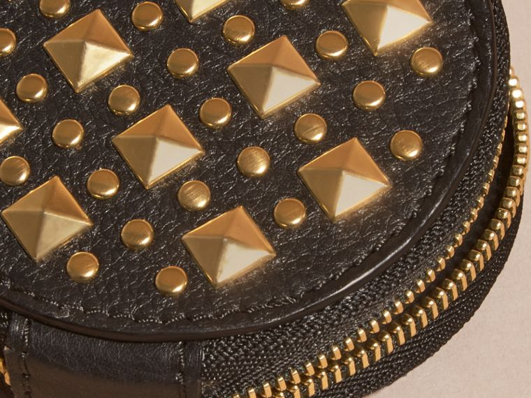 Studded Leather Coin Case - cell image 1