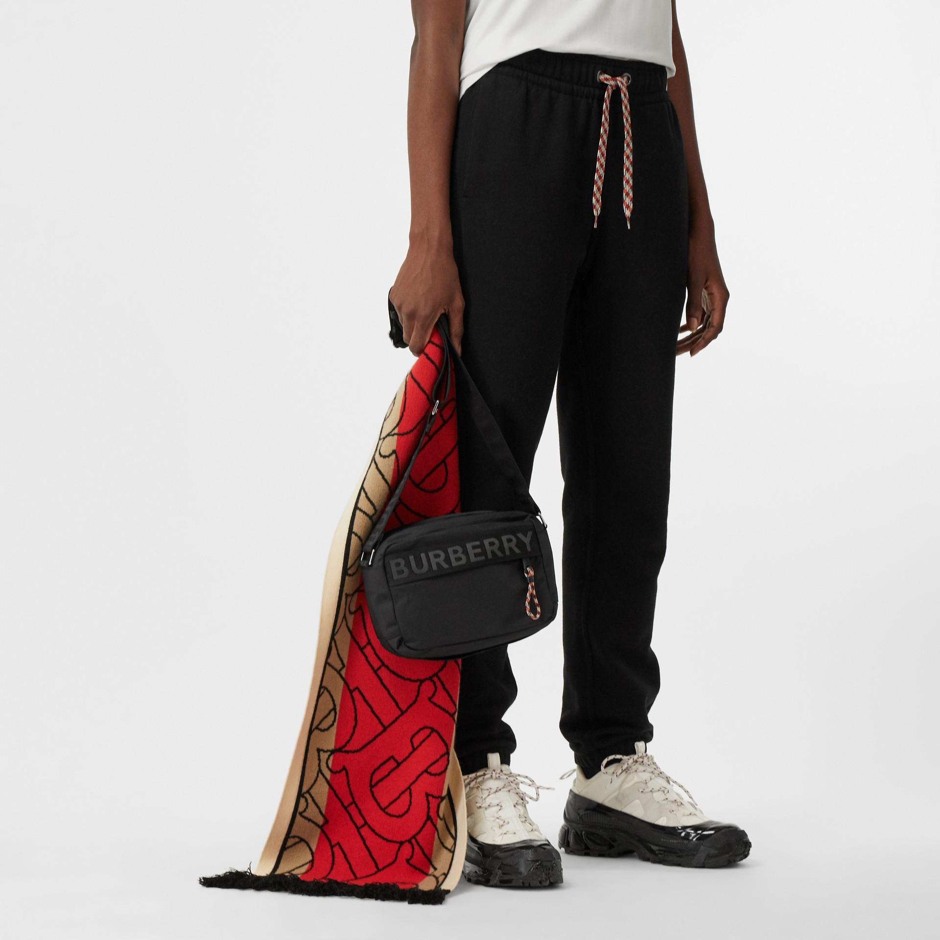 Logo Detail Crossbody Bag in Black - Men | Burberry United Kingdom - gallery image 2