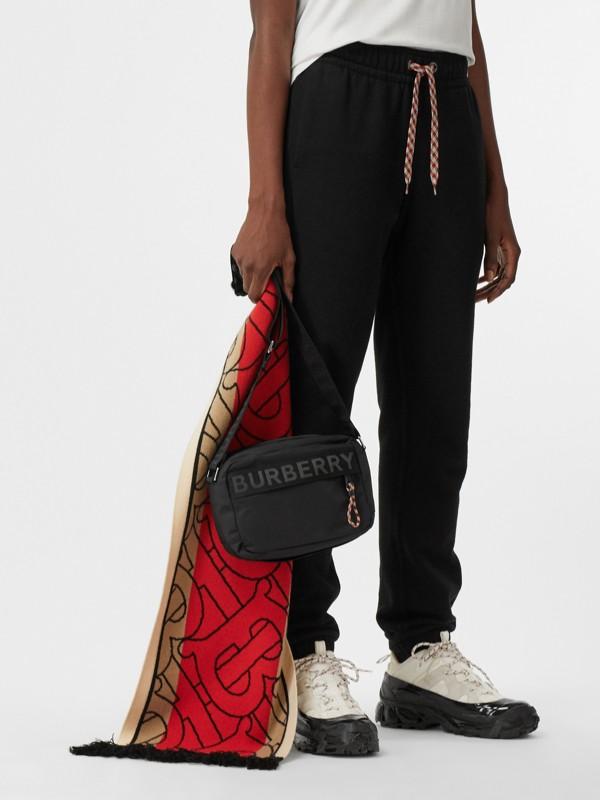 Logo Detail Crossbody Bag in Black - Men | Burberry United Kingdom - cell image 2