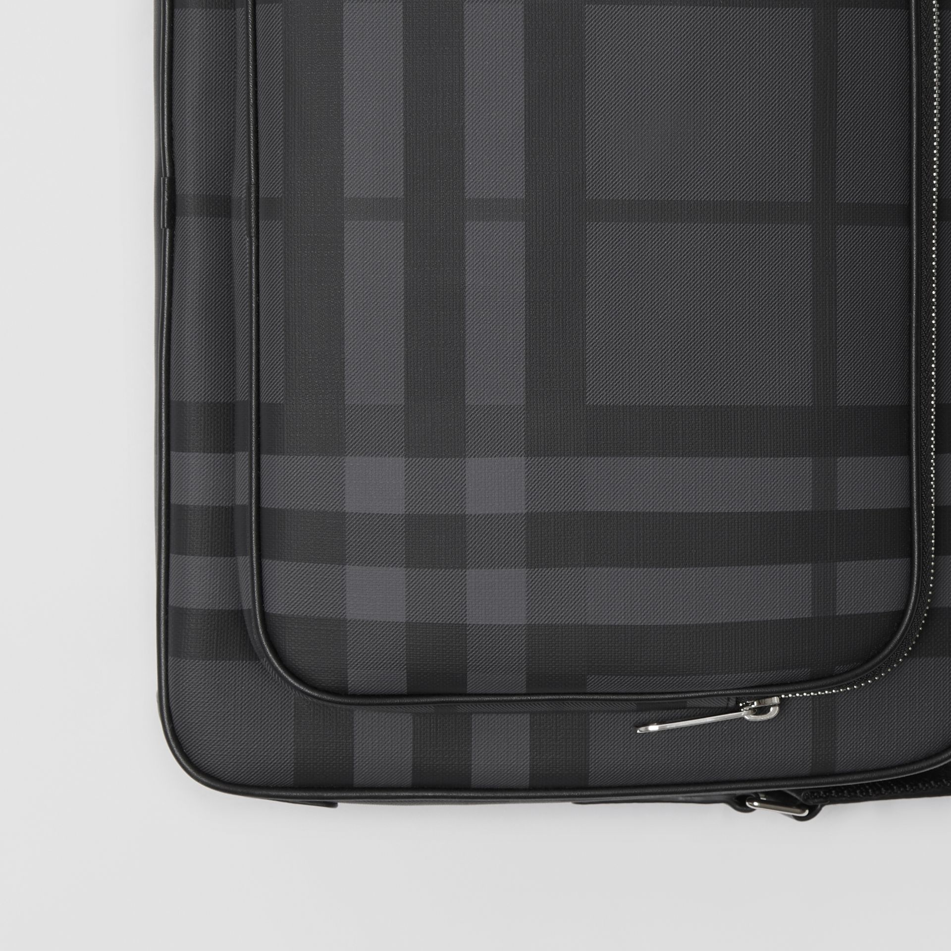 London Check Messenger Bag in Charcoal/black - Men | Burberry Australia - gallery image 1
