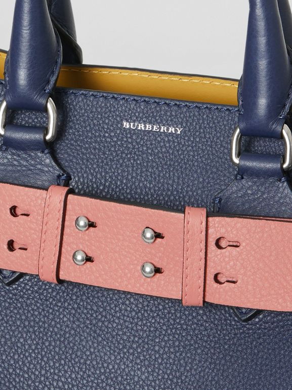 The Small Belt Bag Grainy Leather Belt in Dusty Rose - Women | Burberry - cell image 1