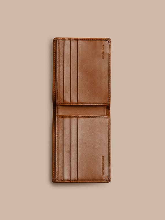 Horseferry Check Wallet Tan - cell image 3