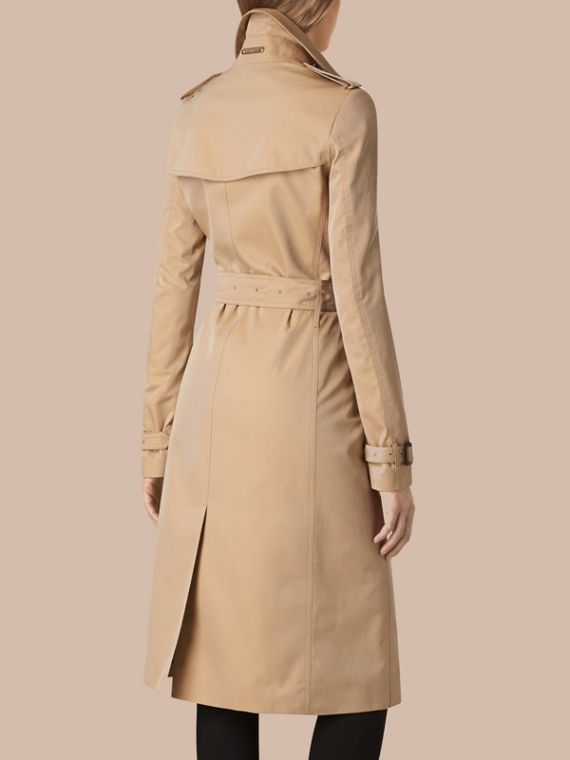 Cotton Gabardine Trench Coat - Women | Burberry Singapore - cell image 2
