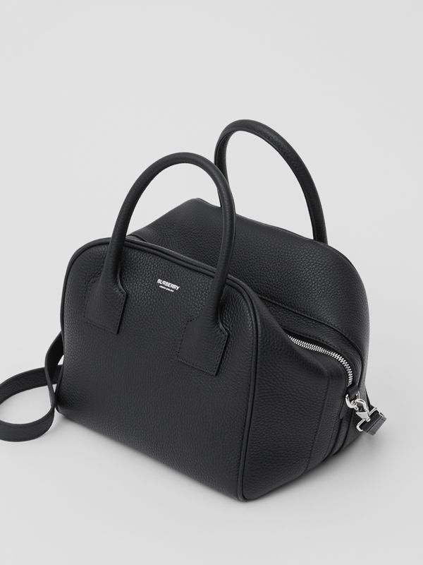 Small Leather Cube Bag in Black - Women | Burberry - cell image 2