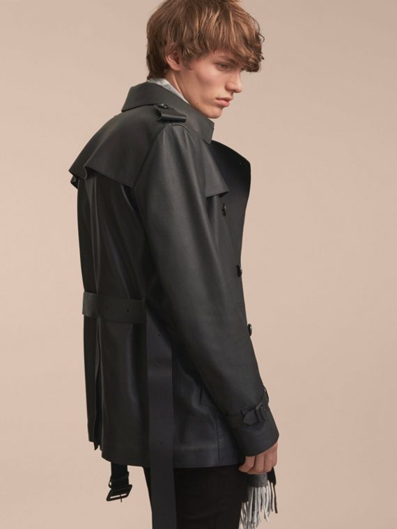 Soft Lambskin Trench Coat - cell image 2