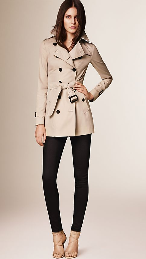 Honey The Sandringham - Short Heritage Trench Coat - Image 1