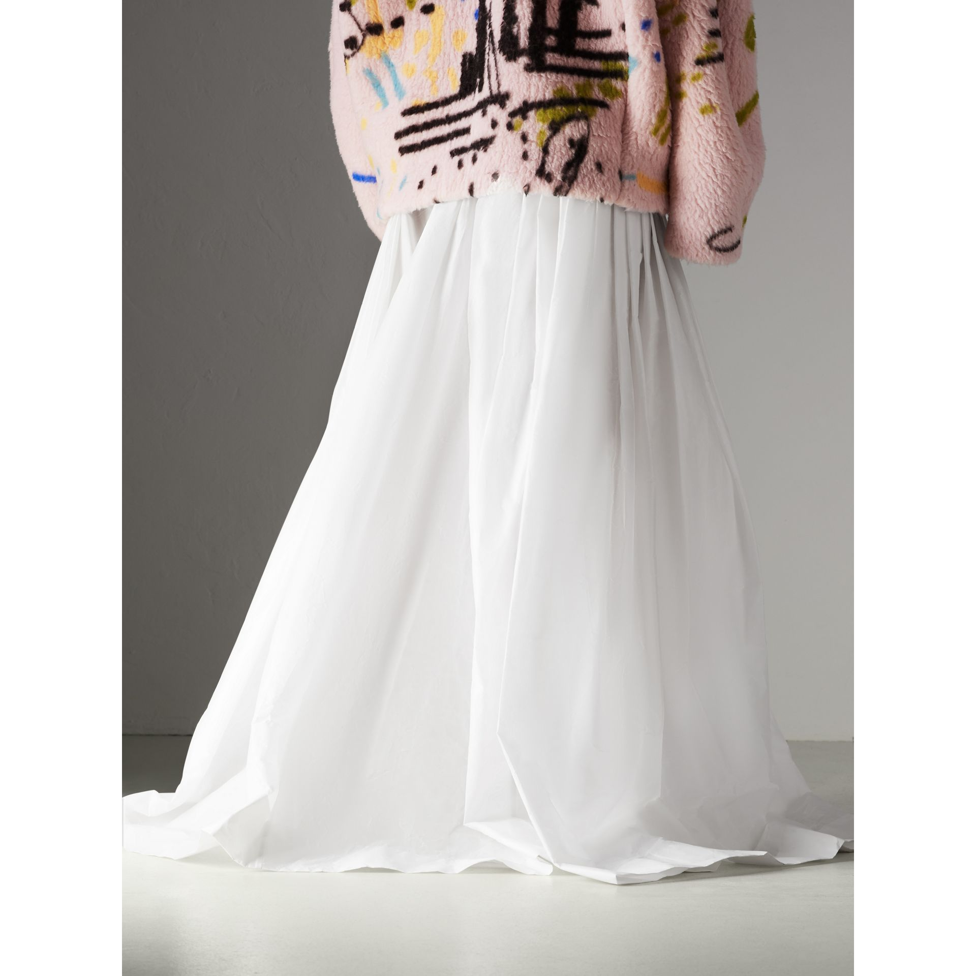 Rainbow Stripe Maxi Skirt - Women | Burberry Singapore - gallery image 2