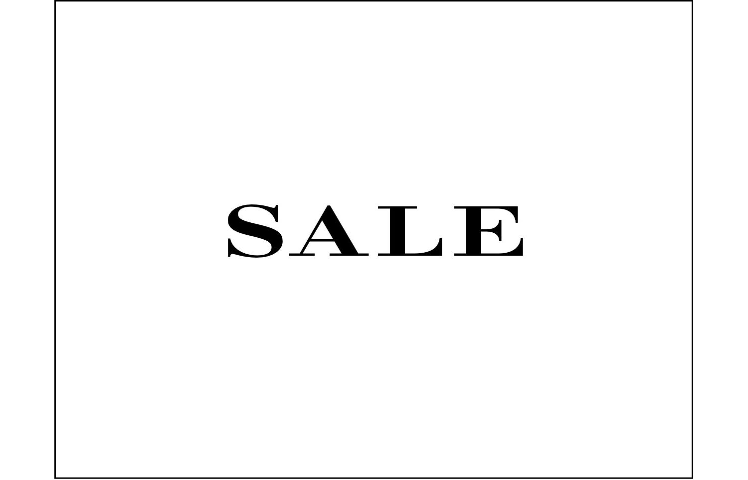 The Burberry sale