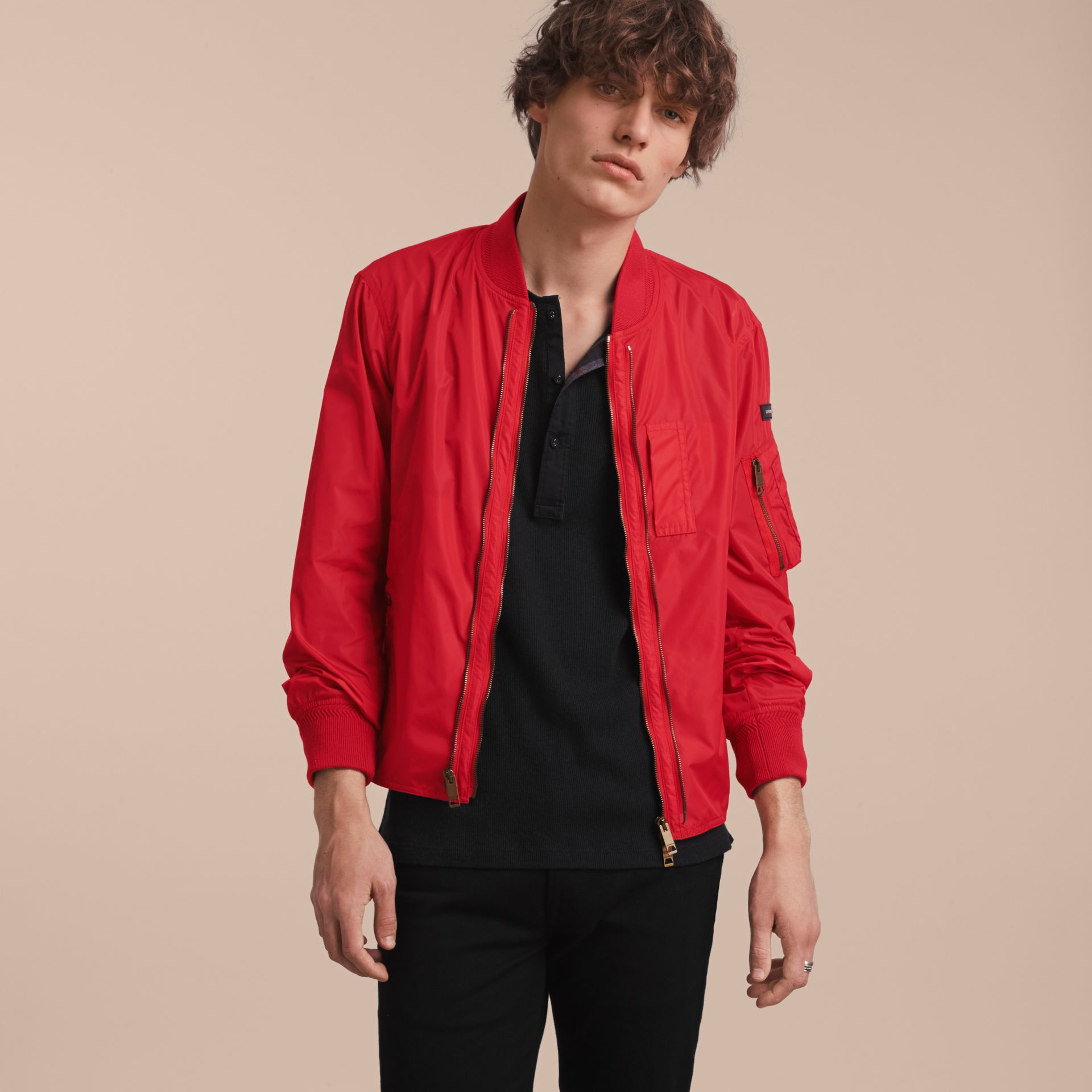 Technical Bomber Jacket with Detachable Gilet - gallery image 6