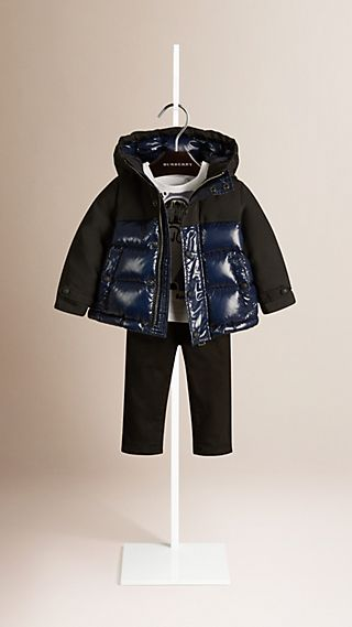 High Shine Down-Filled Puffer Jacket