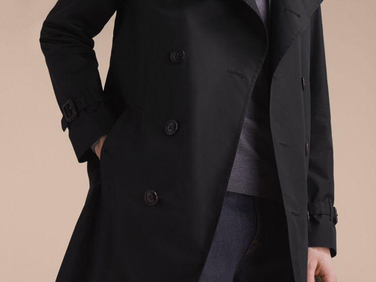 Showerproof Technical Trench Coat with Detachable Gilet - cell image 4