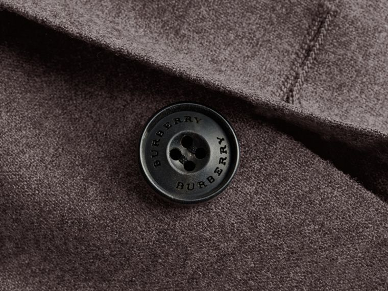Soho Fit Wool Flannel Suit in Dark Charcoal Melange - Men | Burberry - cell image 1