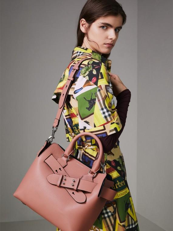 Petit sac TheBelt en cuir (Rose Cendré) - Femme   Burberry Canada - cell image 3