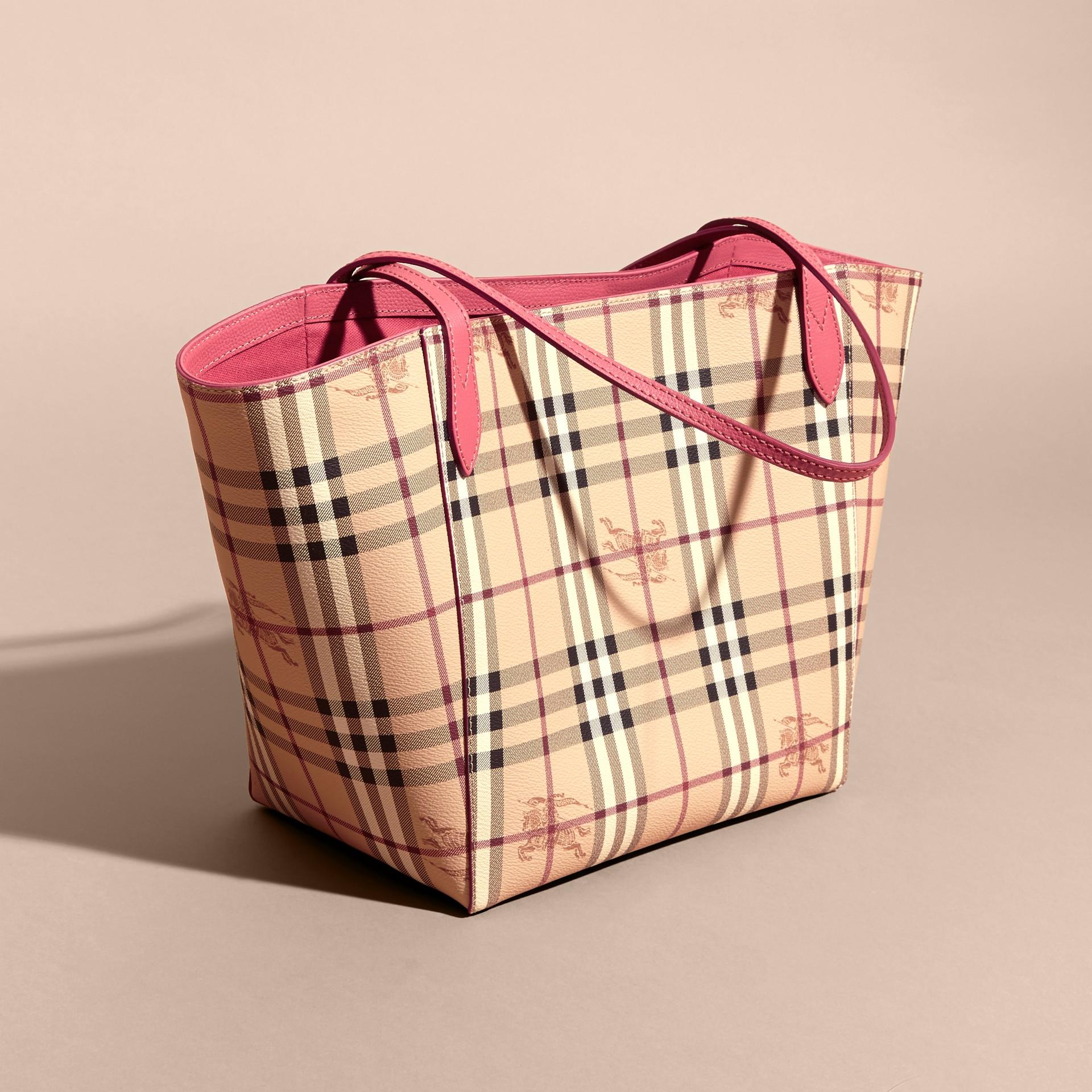 Розовая слива Сумка Canter в клетку Haymarket Check Розовая Слива - изображение 3