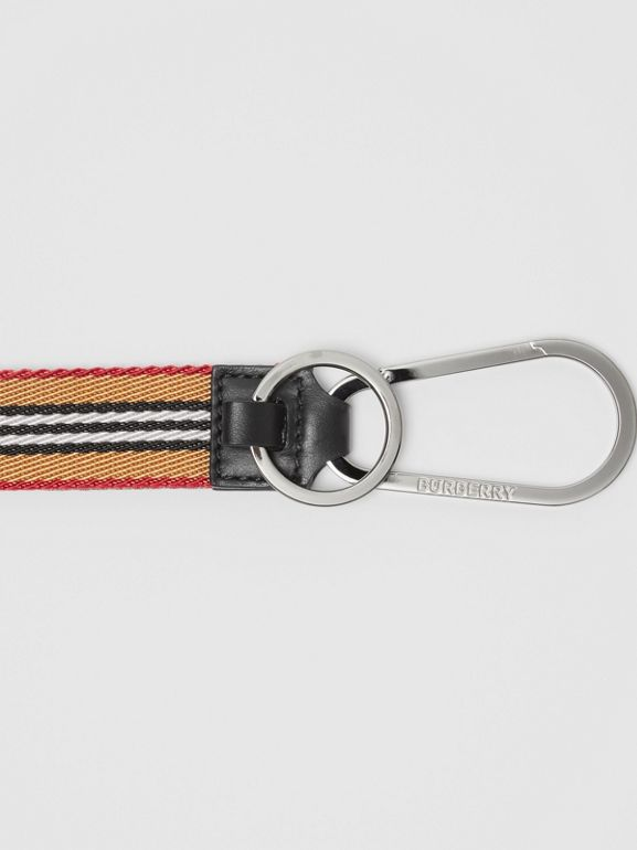 Icon Stripe Lanyard in Archive Beige - Men | Burberry - cell image 1