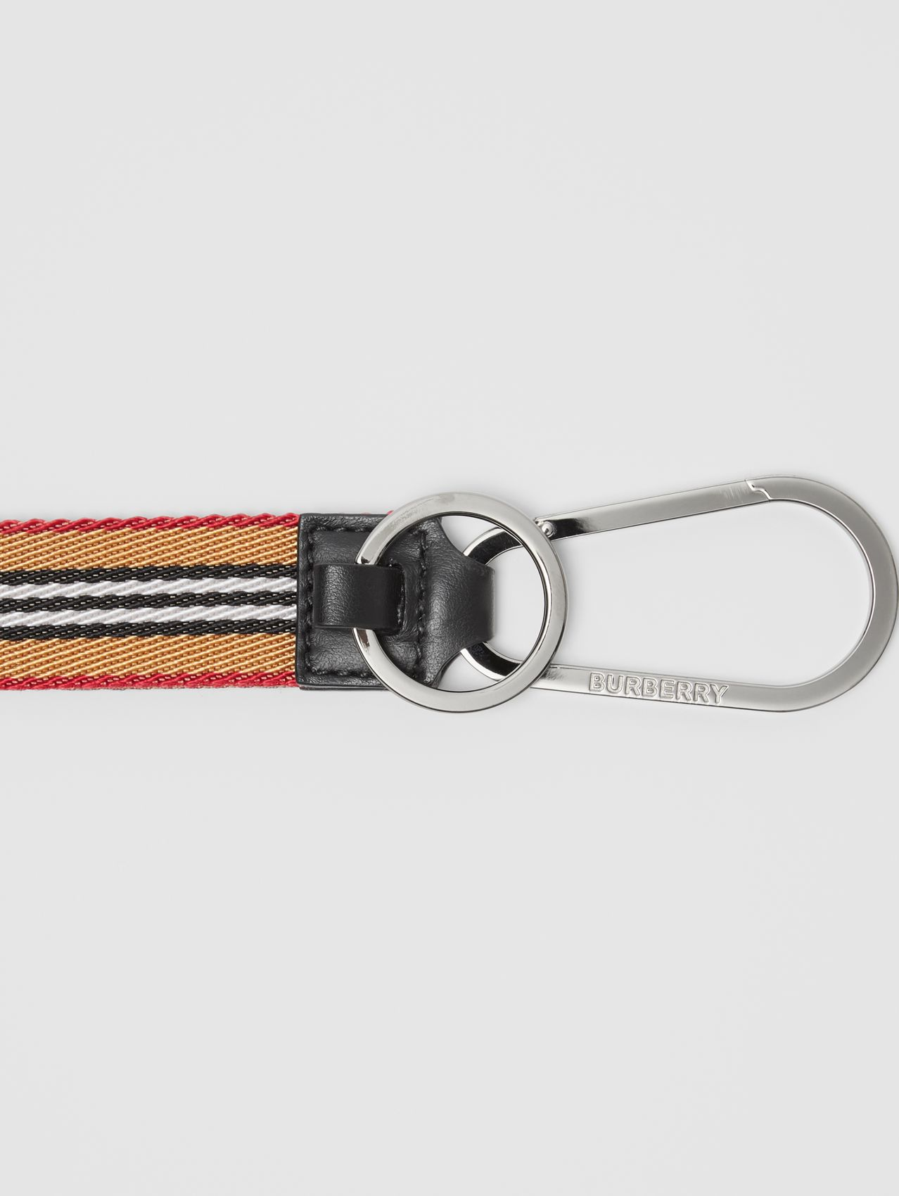 Icon Stripe Lanyard (Archive Beige)