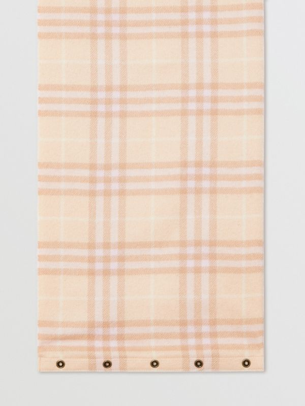Vintage Check Cashmere Snood in Dusty Pink - Children | Burberry - cell image 2
