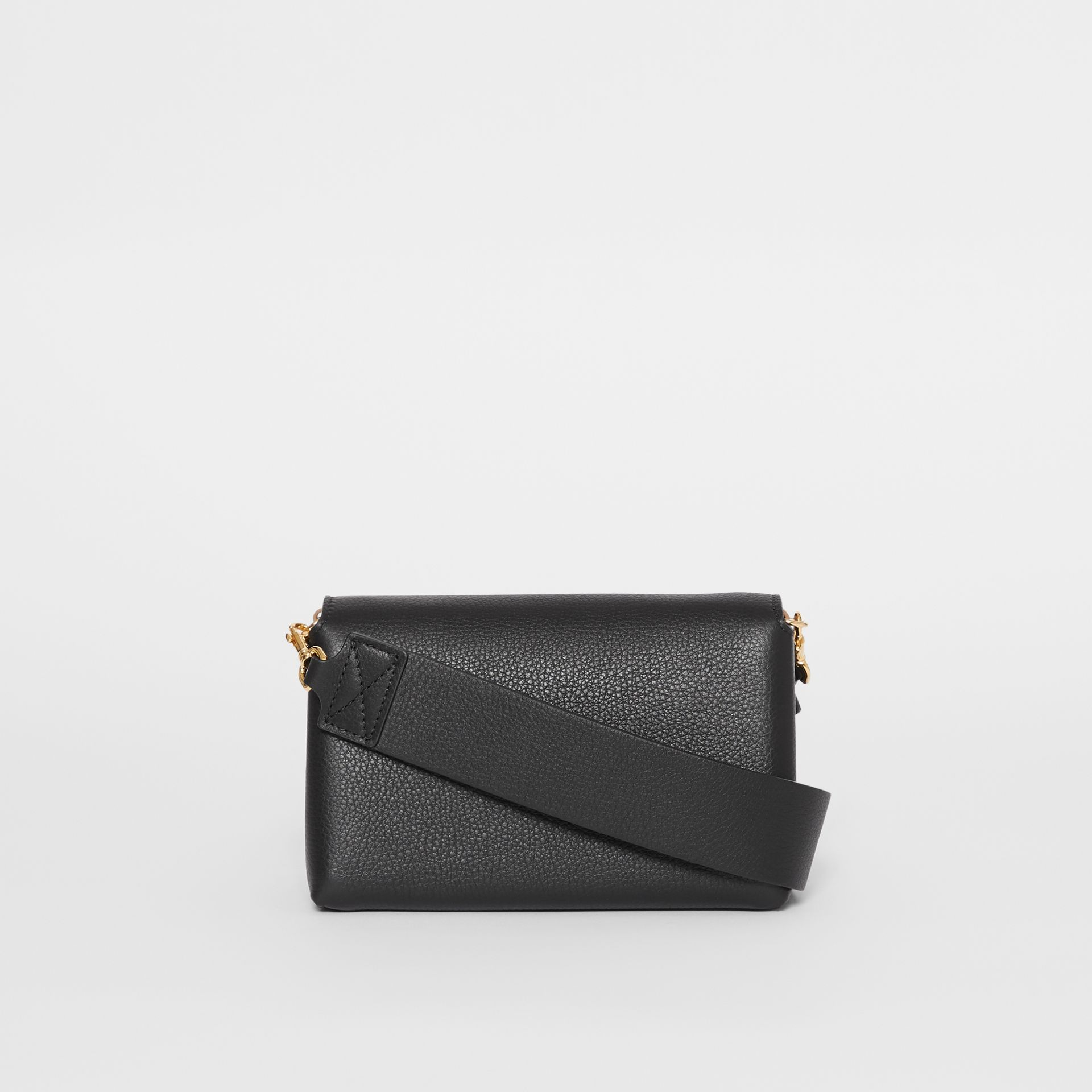 Small Grainy Leather Crossbody Bag in Black - Women | Burberry - gallery image 7