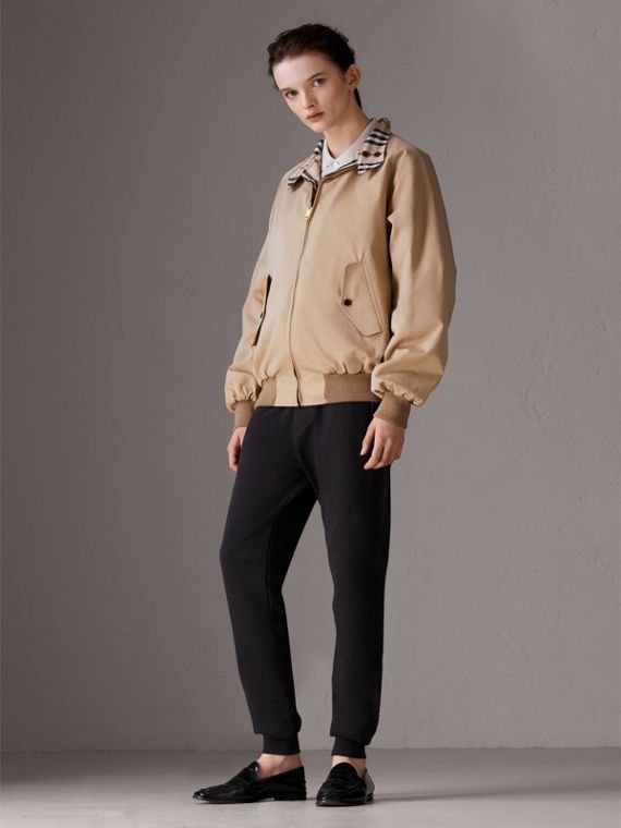 Gosha x Burberry Reversible Harrington Jacket in Honey | Burberry - cell image 3