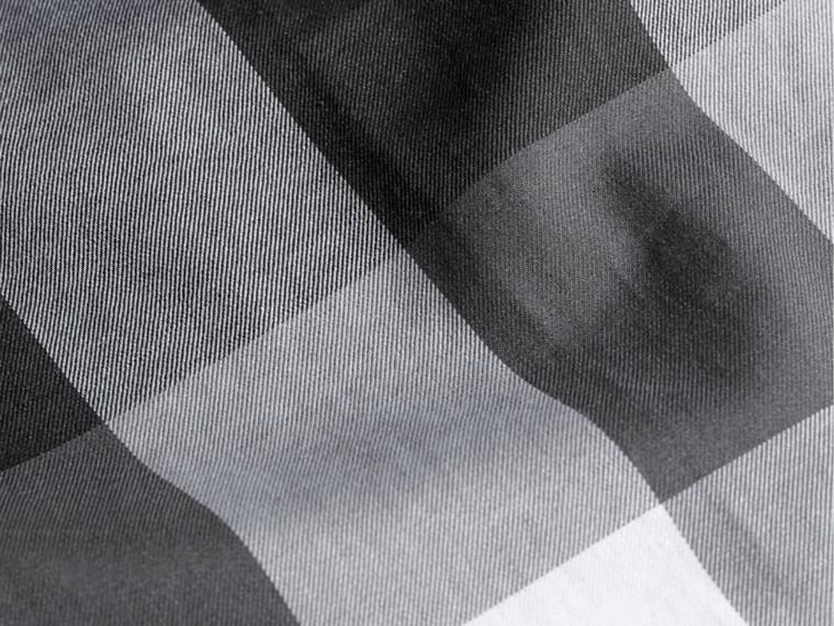 Noir Chemise en coton à motif check Noir - cell image 1