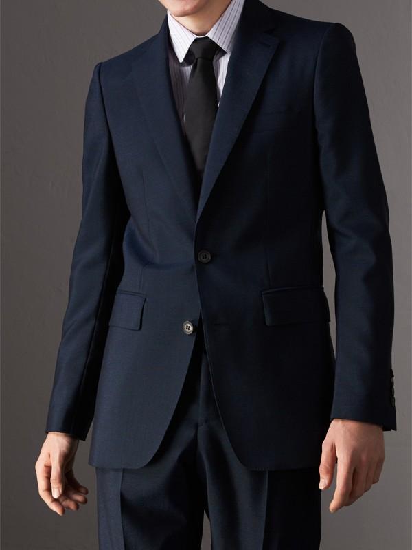Modern Cut Silk Tie in Black - Men   Burberry - cell image 2