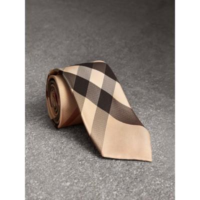 Burberry - Cravate moderne en soie à motif check - 1