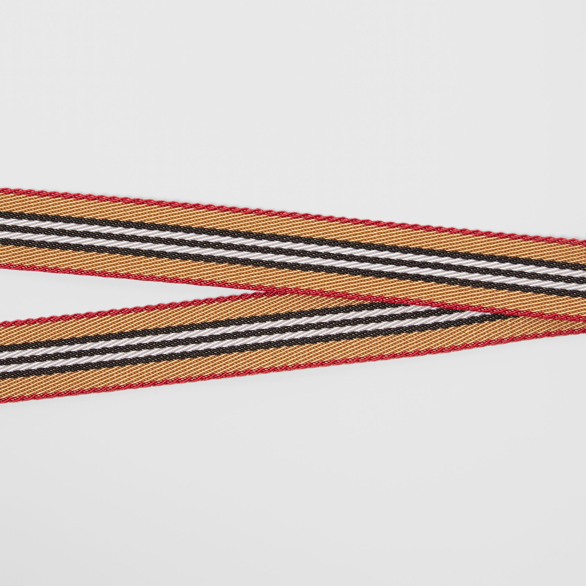 Icon Stripe Lanyard in Archive Beige - Men | Burberry - gallery image 2