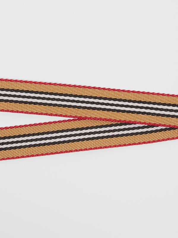 Icon Stripe Lanyard in Archive Beige - Men | Burberry - cell image 2