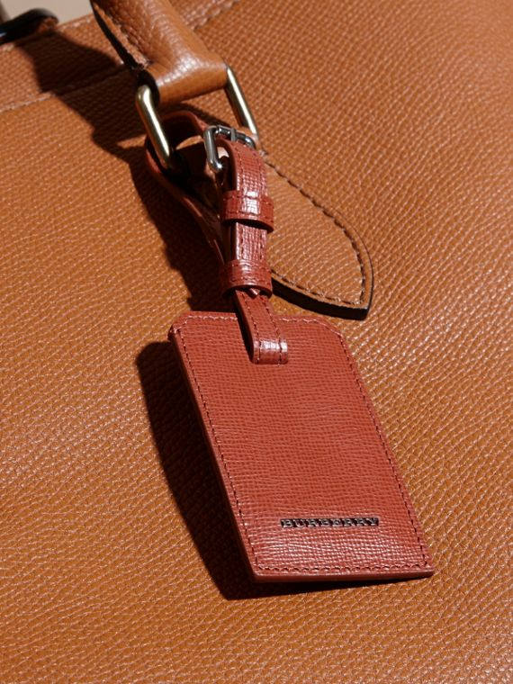 London Leather Luggage Tag Burnt Sienna - cell image 2