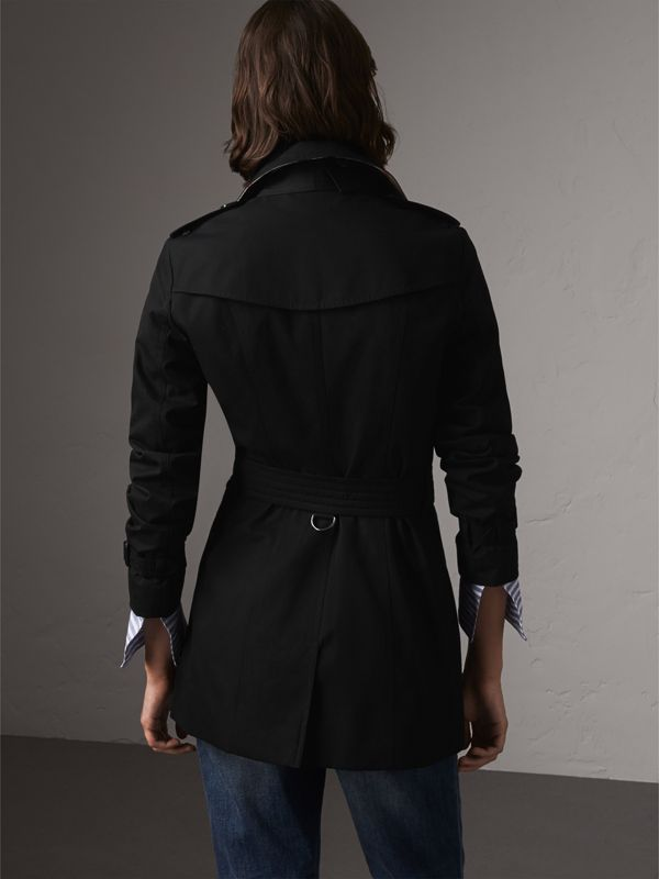 The Sandringham – Trench coat curto (Preto) - Mulheres | Burberry - cell image 2